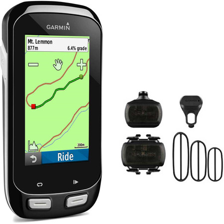 Garmin Edge 1000 Performance Bundle - Black | GPS Cycle Computers