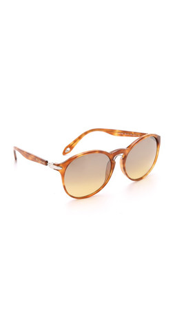 Givenchy Metal Bridge Sunglasses - Light Brown/Gradient Brown