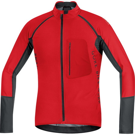 Gore Bike Wear Alp-X Pro Windstopper Softshell Zip-Off Jacket - Medium