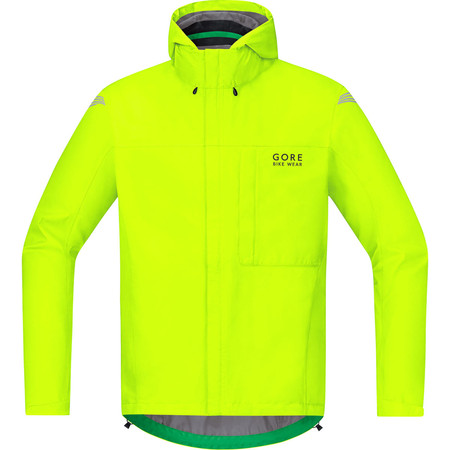 Gore Bike Wear Element Gore-Tex Paclite Jacket - Medium Neon Yellow