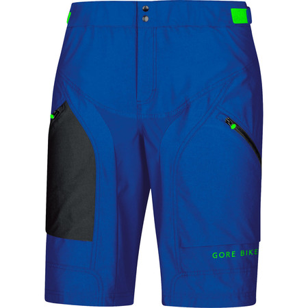 Gore Bike Wear Power Trail Shorts+ - Large Brilliant Blue