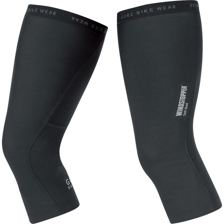 Gore Bike Wear Universal Softshell Knee Warmers - X Small Black