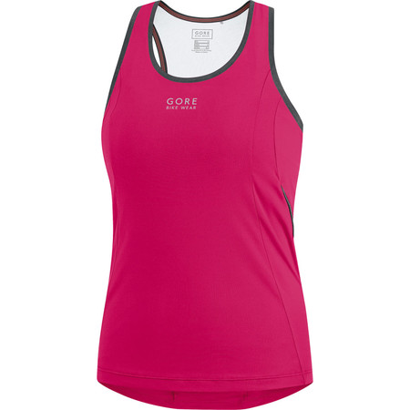 Gore Bike Wear Women's Element Singlet - Small Pink/Orange