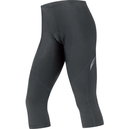 Gore Bike Wear Women's Element Thermo 3/4 Tights+ - Medium Black