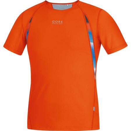 Gore Running Wear Air Print Shirt - SS15 - Small Orange