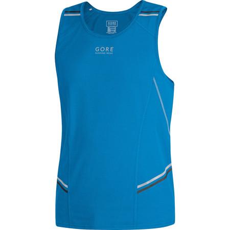 Gore Running Wear Mythos 6.0 Singlet - SS15 - Small Blue