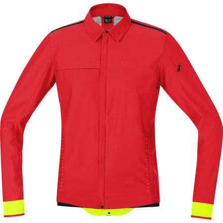 Gore Running Wear Urban Run SO Jacket - SS15 - Extra Large Red