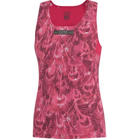 Gore Running Wear Women's Air Print Singlet - SS15 - 36 Pink