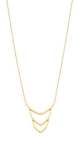 Gorjana Amanda Pendant Necklace - Gold