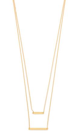 Gorjana Asher Layered Necklace - Gold