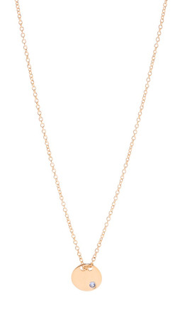 Gorjana Birthstone Crystal Necklace - December