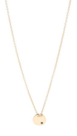 Gorjana Birthstone Crystal Necklace - January