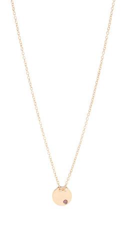Gorjana Birthstone Crystal Necklace - November