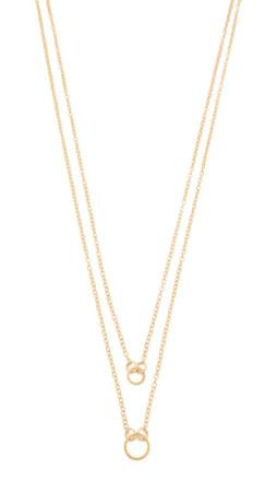 Gorjana Double Rope Necklace - Gold