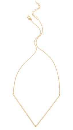 Gorjana Greer V Neck Necklace - Gold