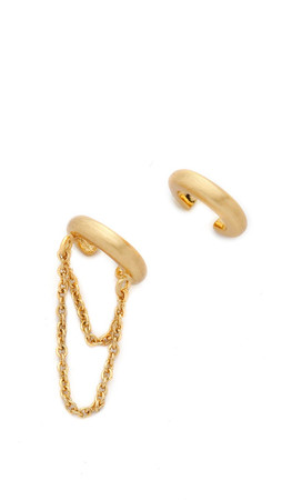 Gorjana Nina Ear Cuff Set - Gold Matte