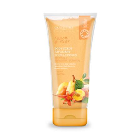 Grace Cole Fruit Works Peach & Pear Body Scrub 238ml