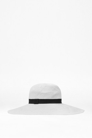 Greta Floppy Hat - SUMMER WHITE