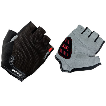 GripGrab EasyRider Short Finger Gloves - Small Black