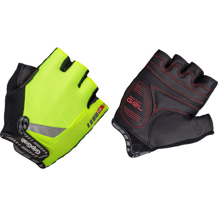 GripGrab Hi Vis ProGel Gloves - Medium Hi Vis Yellow
