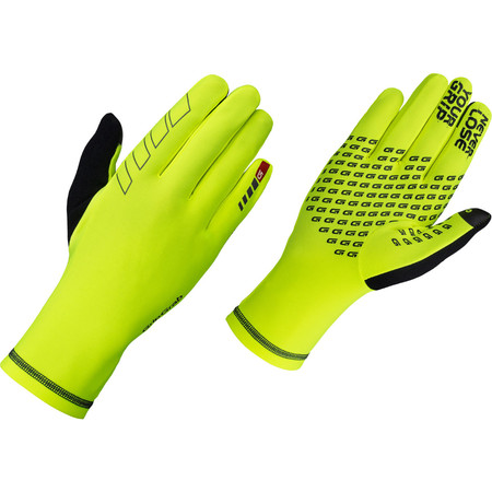 GripGrab Insulator Long Finger Gloves - Medium Yellow