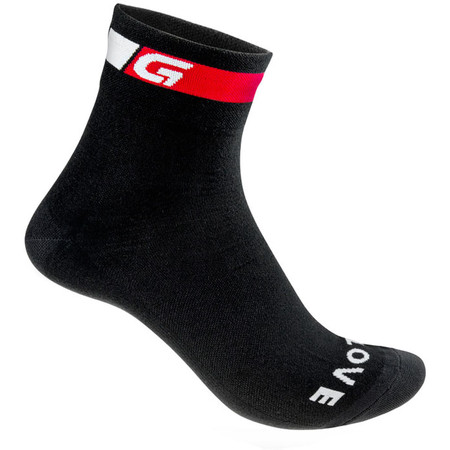GripGrab Regular Summer Socks - Small Black | Cycle Socks