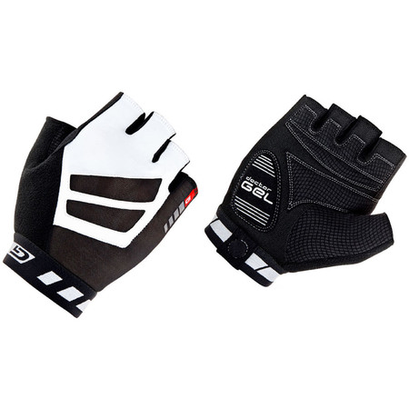 GripGrab WorldCup Short Finger Gloves - Extra Large Black/White