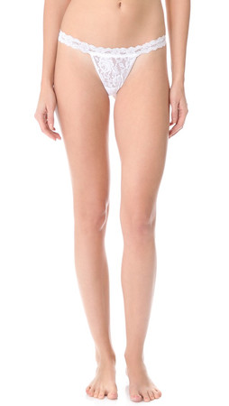 Hanky Panky Signature Lace G-String - White
