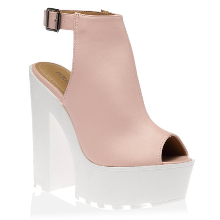Harper Platforms in Pink