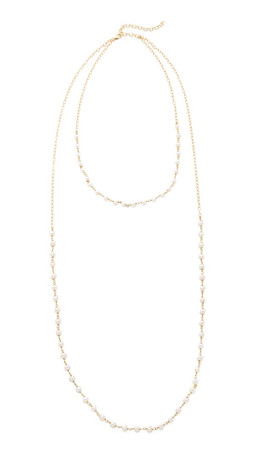 Heather Hawkins Goldenmouth Freshwater Cultured Pearl Necklace - Pearl