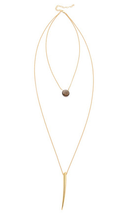 Heather Hawkins Gone Girl Necklace - Gold