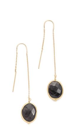Heather Hawkins Threader Earrings - Gold