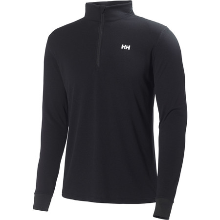 Helly Hansen Active Flow 1/2 Zip Base Layers - Extra Large Black