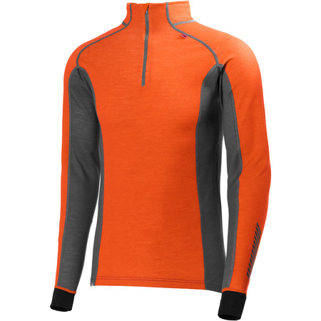 Helly Hansen Warm Freeze 1/2 Zip Base Layer - Extra Large Magma