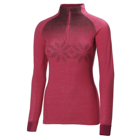 Helly Hansen Women's Warm High Neck 1/2 Zip Base Layer AW14 - Large