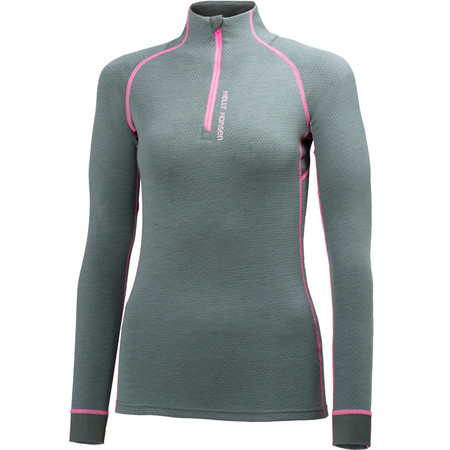 Helly Hansen Women's Warm High Neck 1/2 Zip Base Layer - X Small