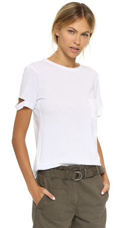Helmut Lang Pocket Tee - White