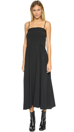Helmut Lang Strap Maxi Dress - Black