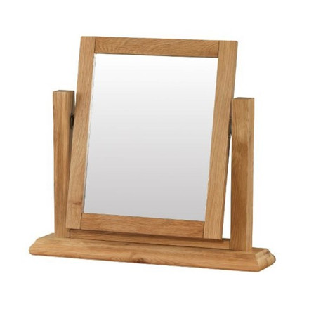 Heritage Furniture Bayonne Oak Dressing Table Mirror