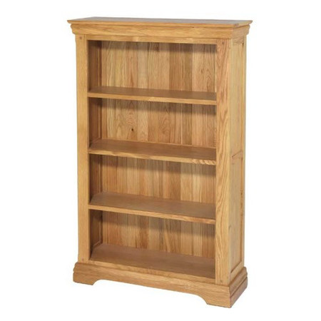 Heritage Furniture Bayonne Oak Medium Bookcase