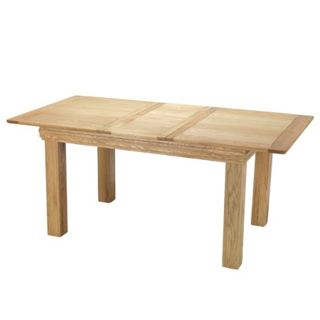 Heritage Furniture Bayonne Oak Small Extending Dining Table