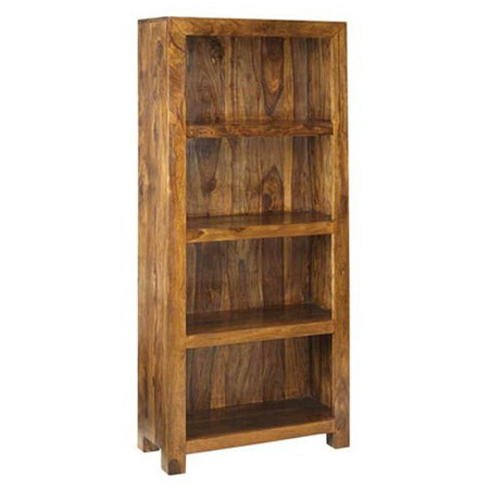 Heritage Furniture UK Laguna Sheesham 4 Shelf Bookcase