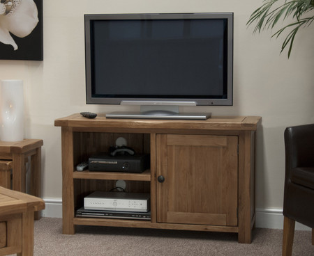 Homestyle GB Rustic Oak TV Cabinet
