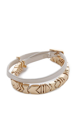 House Of Harlow 1960 Wrap Bracelet - Gold/White