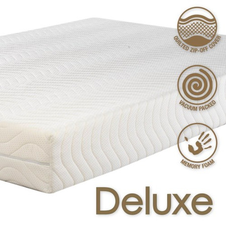 Icon Designs Concept Memory Sleep Deluxe 2000 High Density Memory Foam Mattress - Continental 160 x