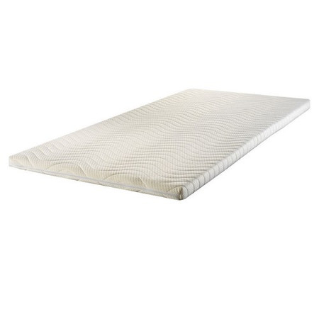 Icon Designs Concept Memory Sleep Laytec T3000 Latex Alternative 3 Inch Mattress Topper - UK King wh