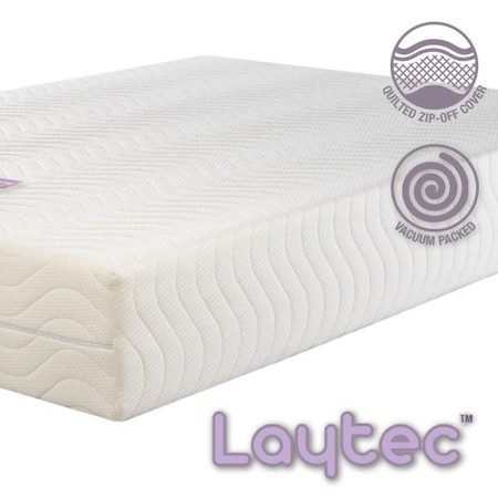 Icon Designs Concept Memory Sleep Laytech 8000 Latex Alternative Mattress - UK Super King white