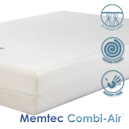 Icon Designs Concept Memory Sleep Memtec Combi-Air Medium-Firm Feel. Advanced 3 Layer Memory Foam Ma
