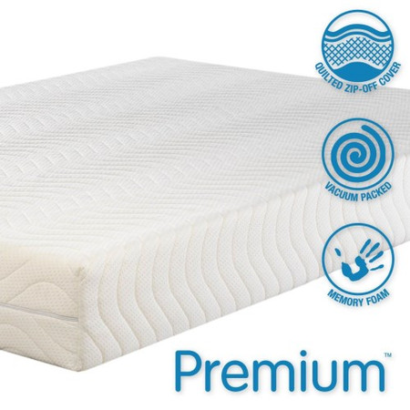 Icon Designs Concept Memory Sleep Premium 4000 Medium Density Memory Foam Mattress - UK Super King w