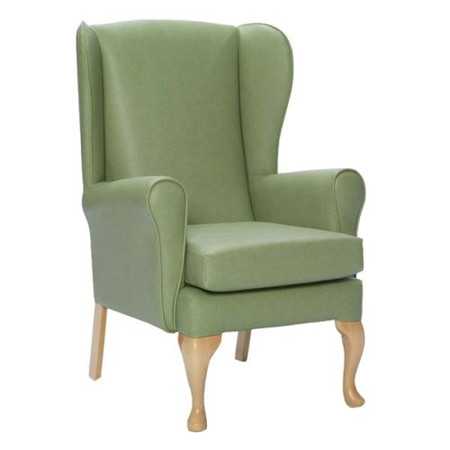 Icon Designs St Ives Fireside Armchair in Green